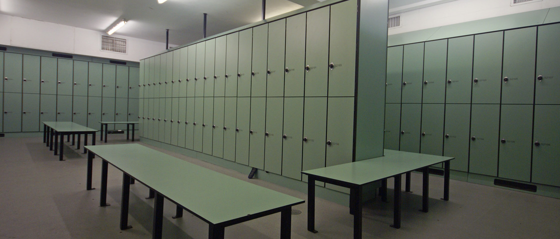 The perse school green lockers